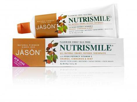 Jason Nutrismile Fluoride Free Toothpaste - Roots Fruits & Flowers Glasgow