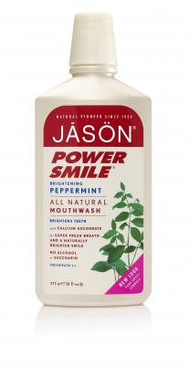 Jason Powersmile Brightening Mouthwash - Roots Fruits & Flowers Glasgow