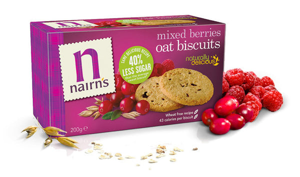 Nairn's Mixed Berries Oat Biscuits