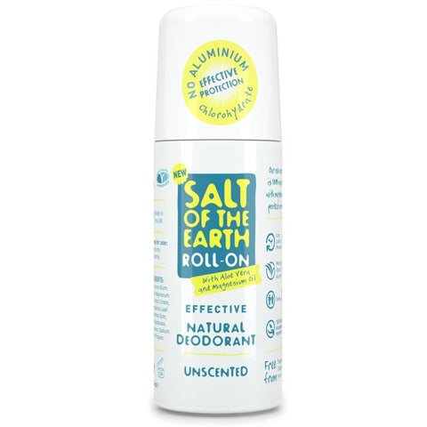Salt of the Earth Unscented Natural Deodorant