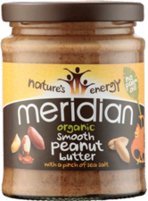 Meridian Organic Smooth Peanut Butter 280g