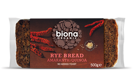 Biona Organic Rye with Amaranth/Quinoa