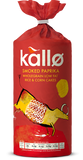 Kallø Smoked Paprika Rice & Corn Cakes - Roots Fruits & Flowers Glasgow