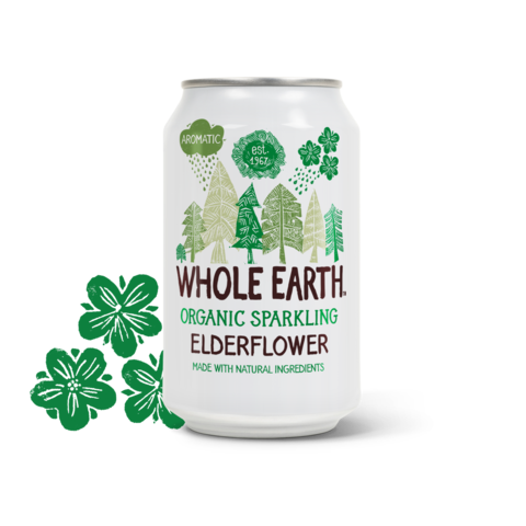 Whole Earth Organic Sparkling Elderflower