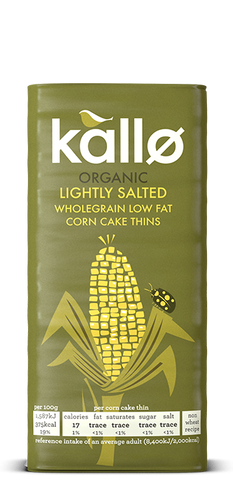 Kallø Lightly Salted Corn Cake Thins