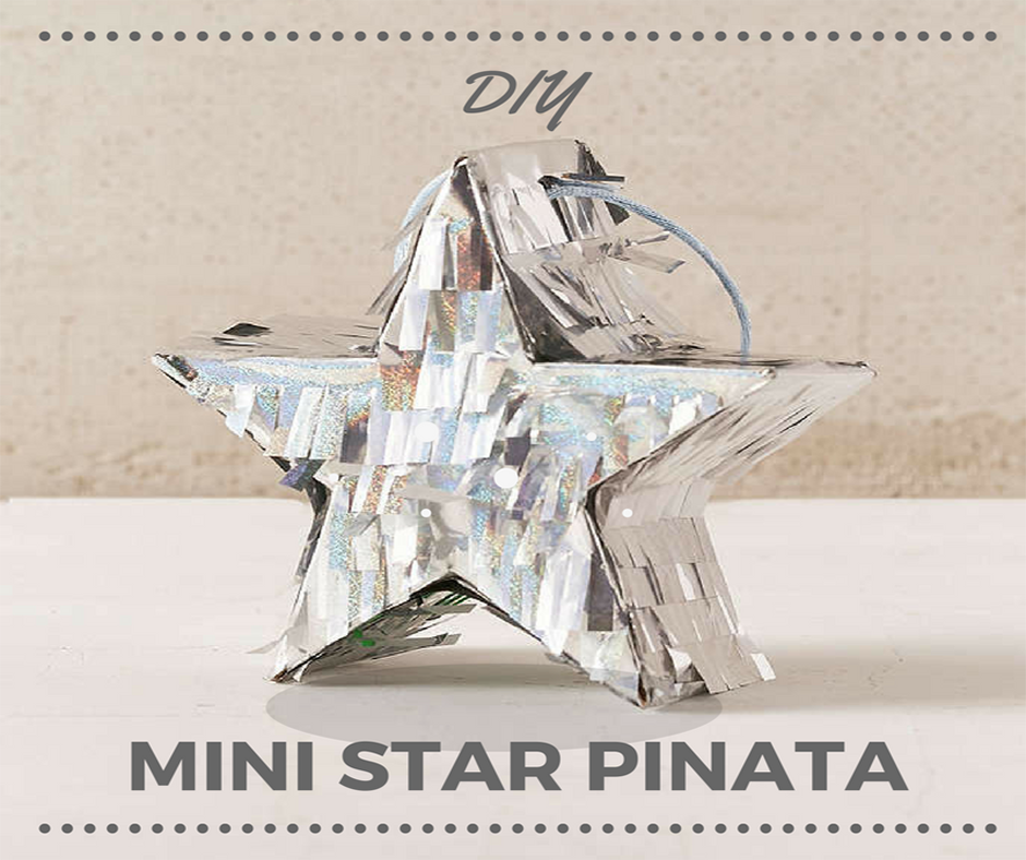 DIY - MINI STAR PINATA!