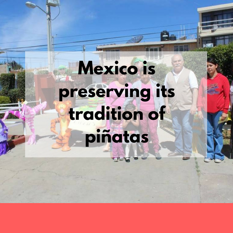 Mexico is preserving its tradition of piñatas
