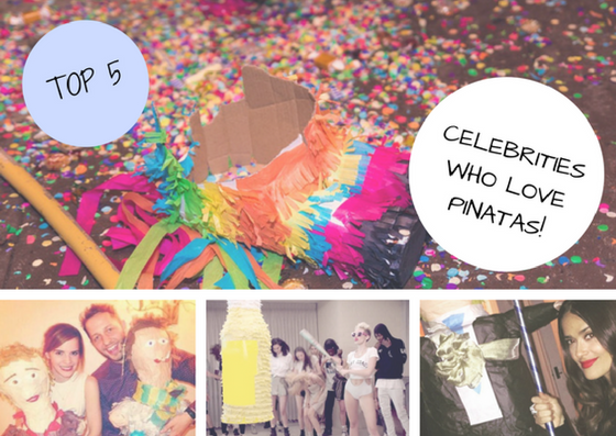 TOP 5: Pinata loving celebrities!