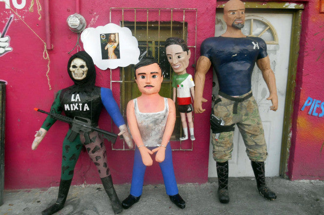 El Chapo Pinatas Become a Thing After his Recapture