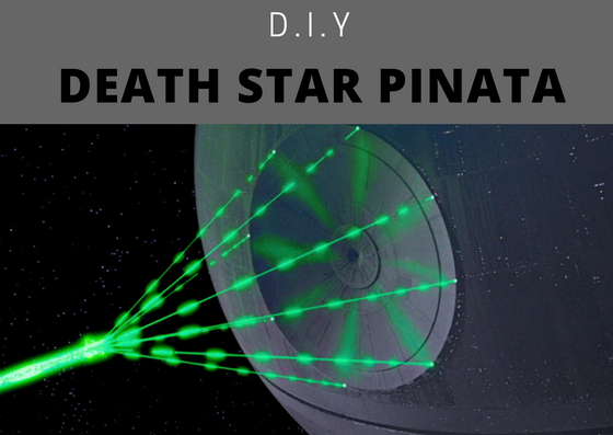 Make an awesome Death Star Pinata!