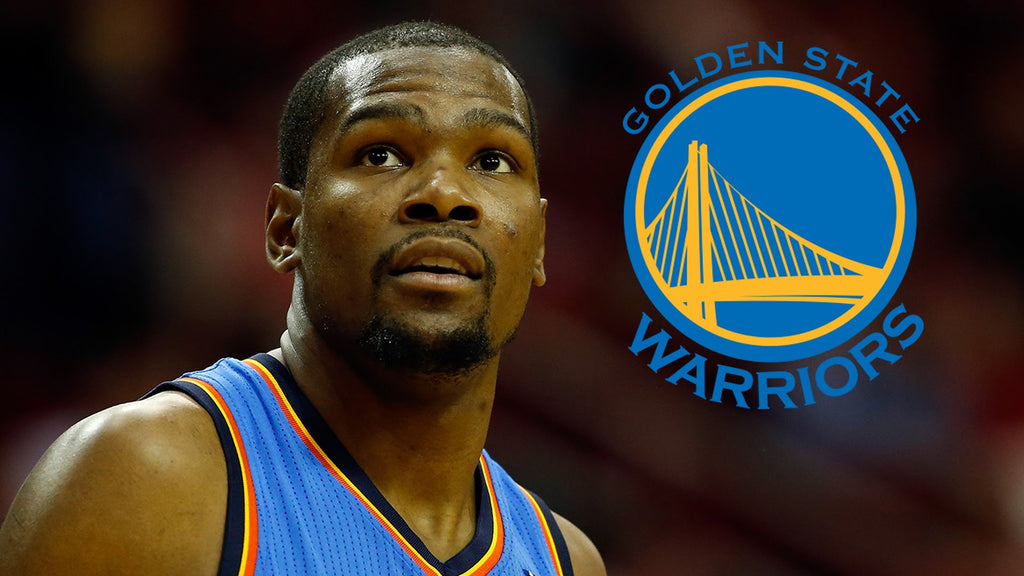 Kevin Durant's Decision to Join the Warriors  Turns the NBA World Upside Down
