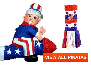 4th of July Pinatas