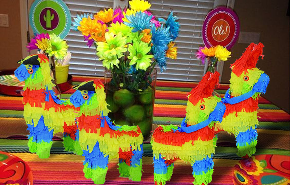 Fiesta Mini Pinata Party Favors