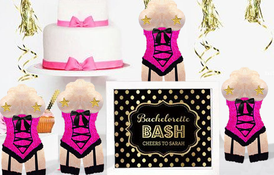 Bachelorette Mini Pinata Paty Favors