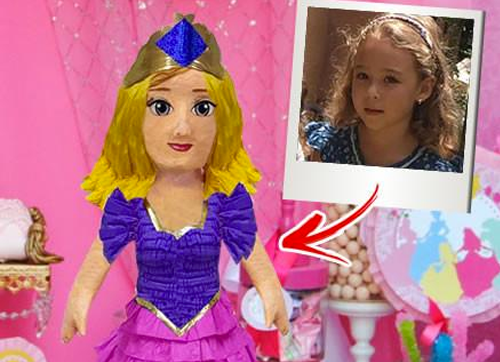 CUSTOM PRINCESS PINATA