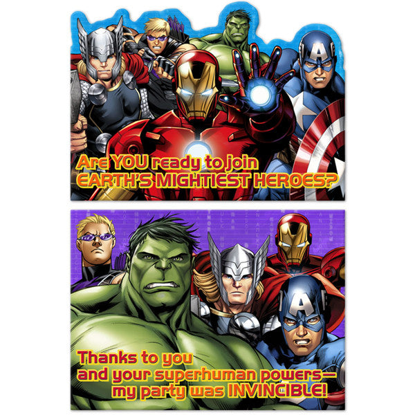 Avengers Assemble Invitations/TY