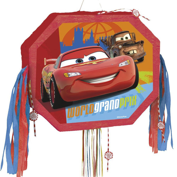 Disney Cars Pull string Pinata