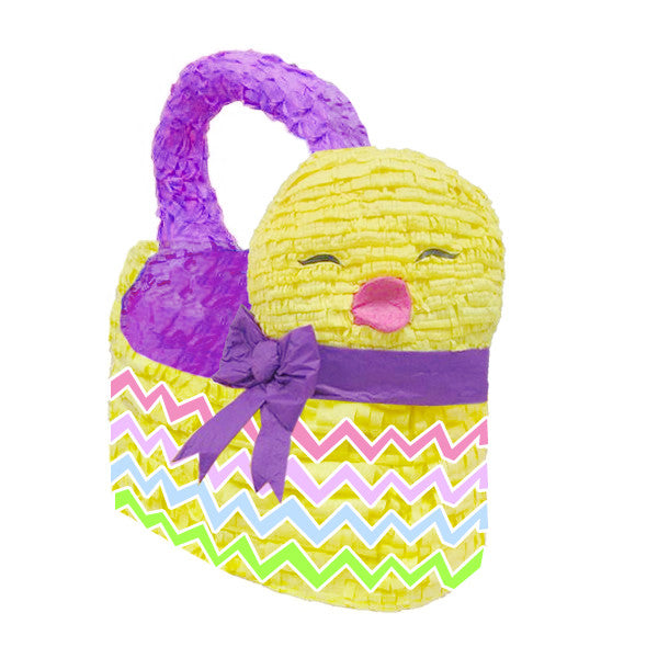 Easter Chick Pinata Gift Basket