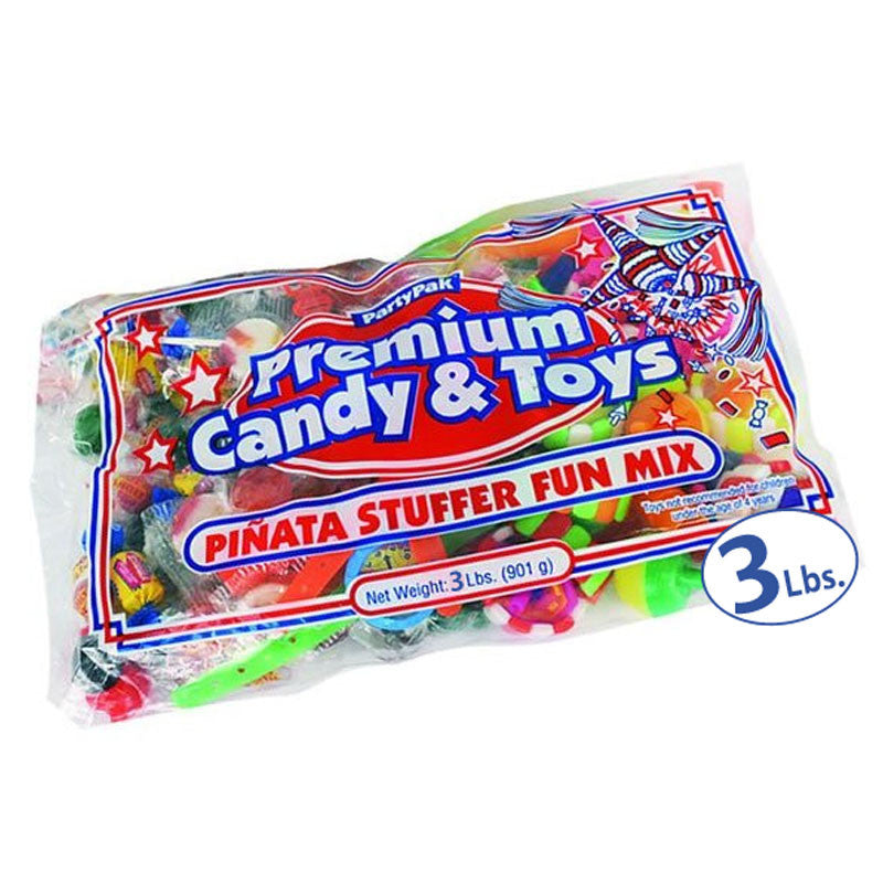 3lb Candy and Toys Pinata Filler