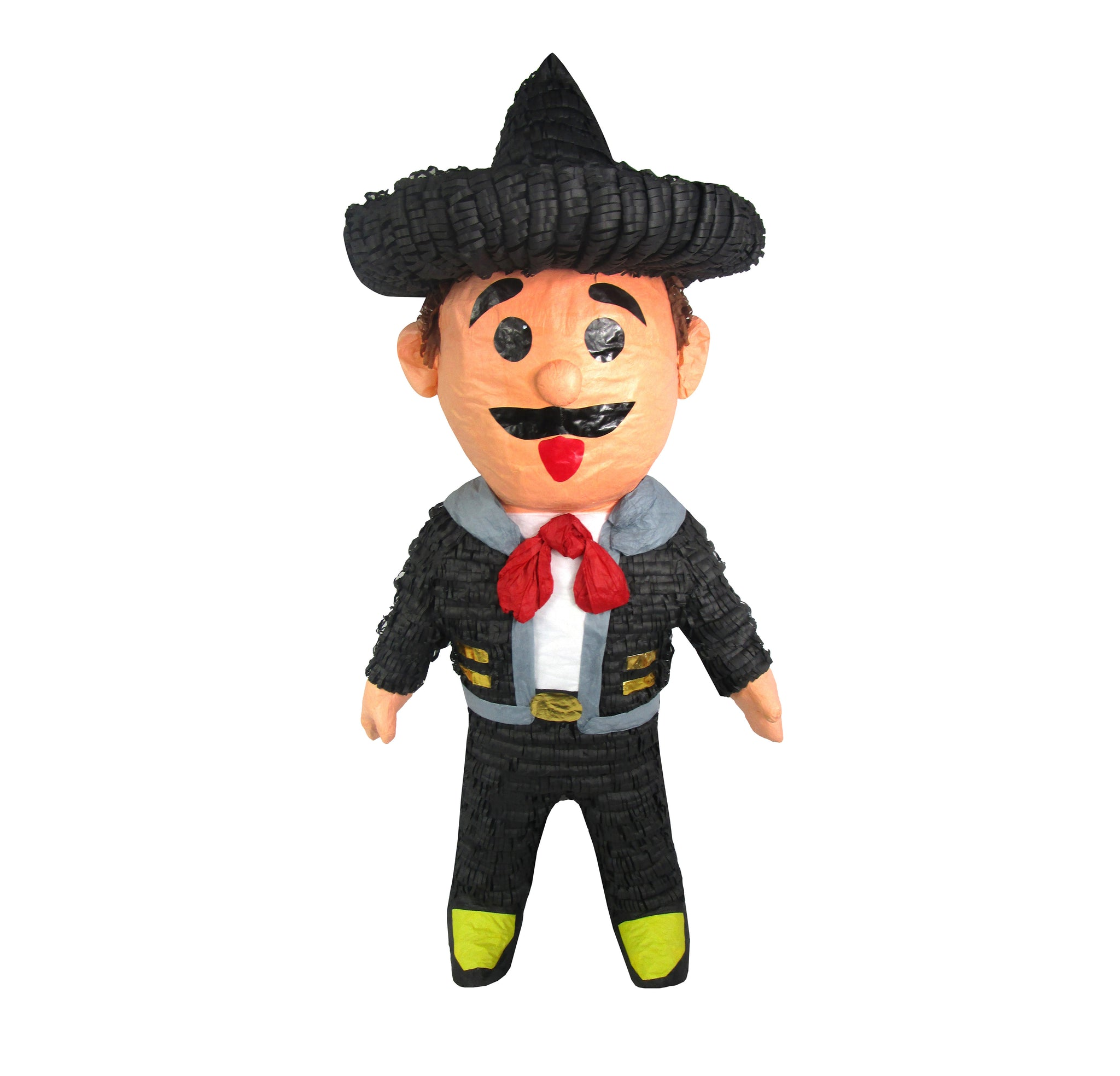 CUSTOM PERSON PINATA - MEXICAN MARIACHI FOR FIESTAS