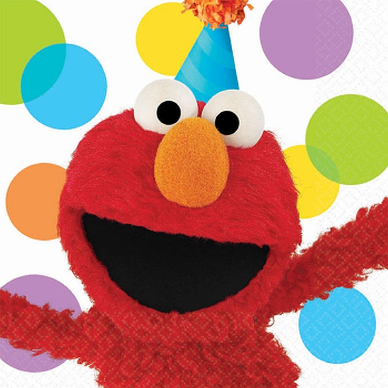 Elmos Party Lunch Napkins 16ct
