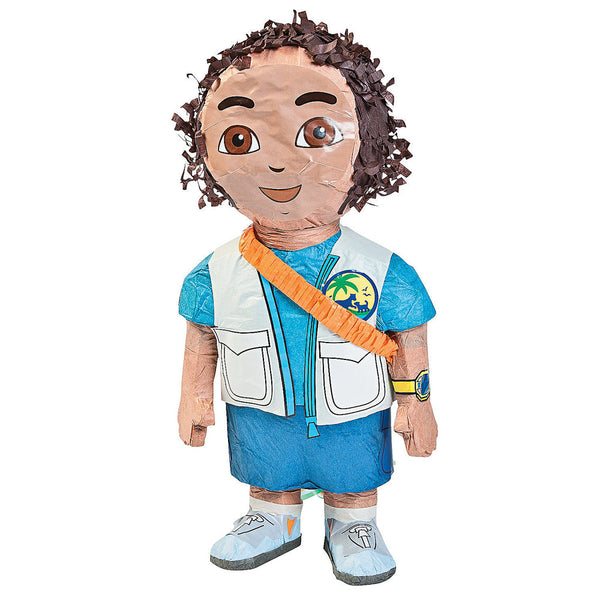 3D Diego Pull String Pinata