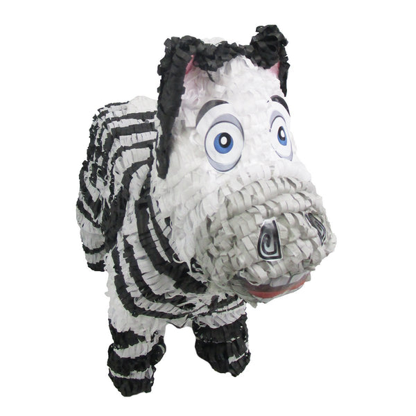 Zebra Pinata for Zoo or Safari Party, Game, Decoration and Photo Prop