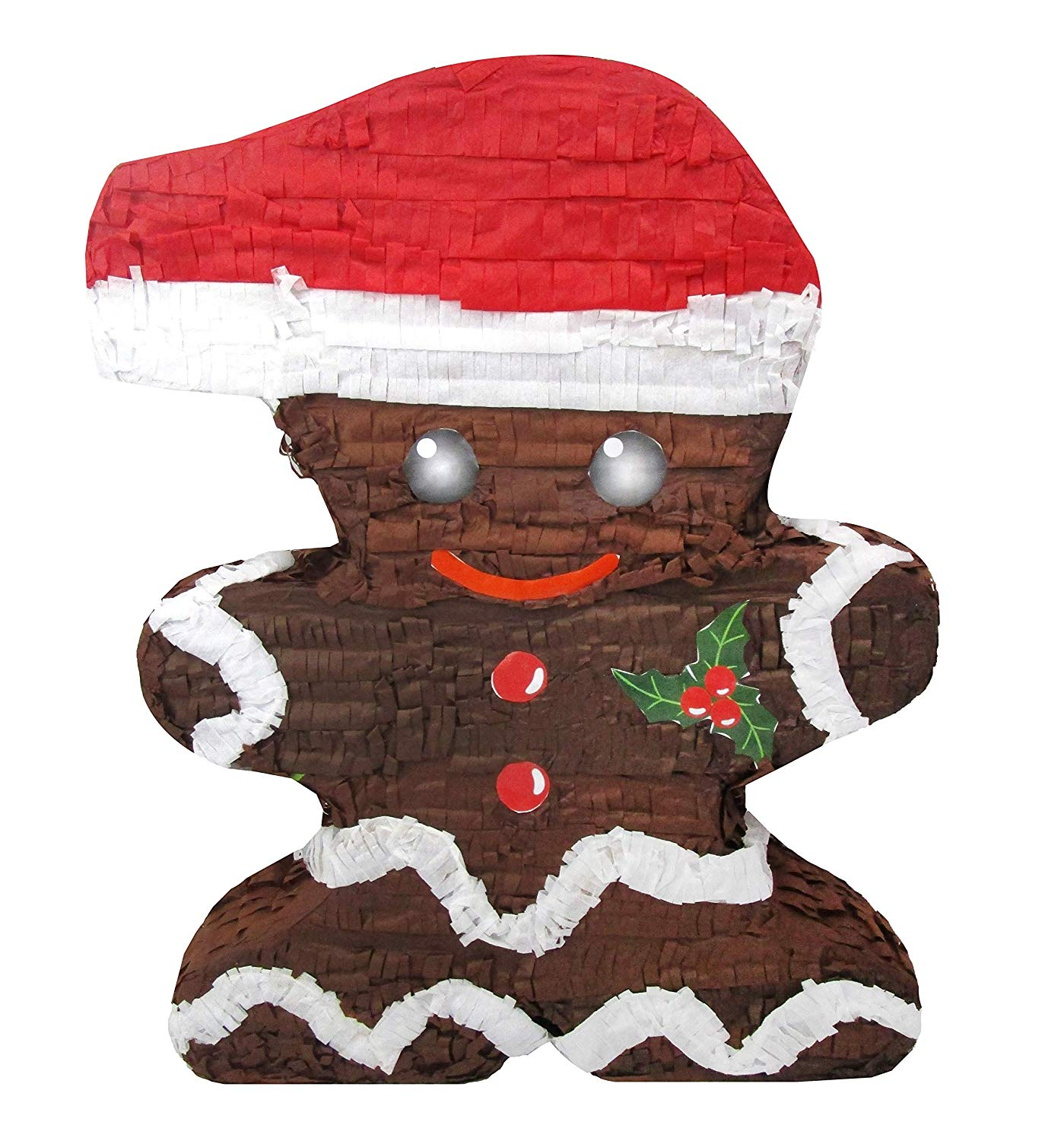 Standard Christmas Gingerbread Man Pinata