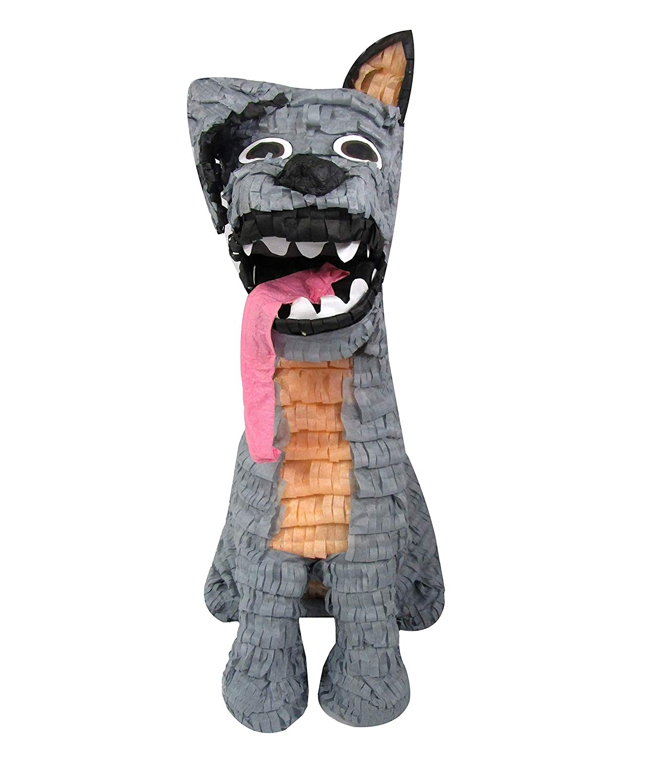 Spirited Dog Pinata, Party Game, Decoration and Photo Prop