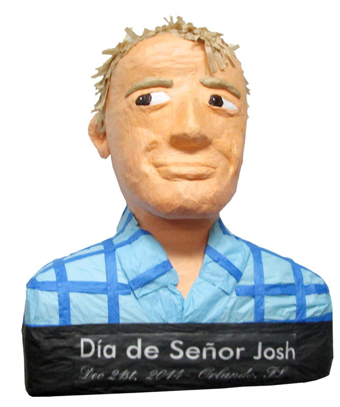 Custom Skeptical Man Pinata