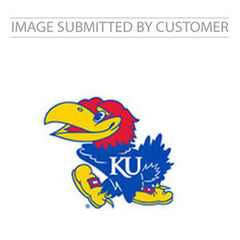 Kansas University Jayhawk Mascot Custom Pinata