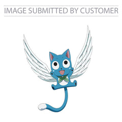 Happy the Blue Winged Cat Custom Pinata