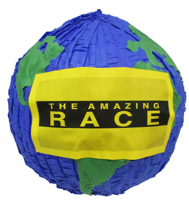The Amazing Race Custom Pinata