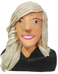 Blond Woman Custom Pinata