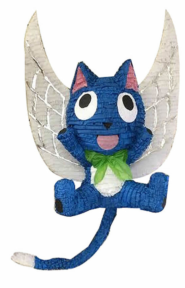 Custom Happy the Blue Winged Cat Pinata