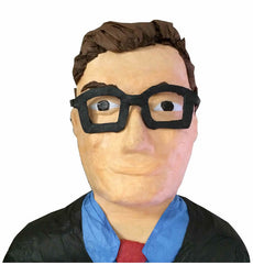 Custom Man with Glasses Pinata
