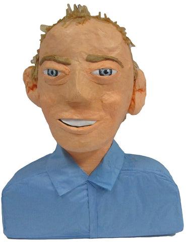 Man Blue Shirt Custom Pinata