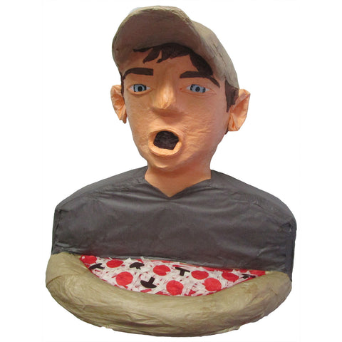 Man With Pizza Custom Pinata