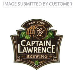 Captain Lawrence Logo Custom Pinata