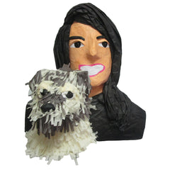 Woman With Dog Custom Pinata