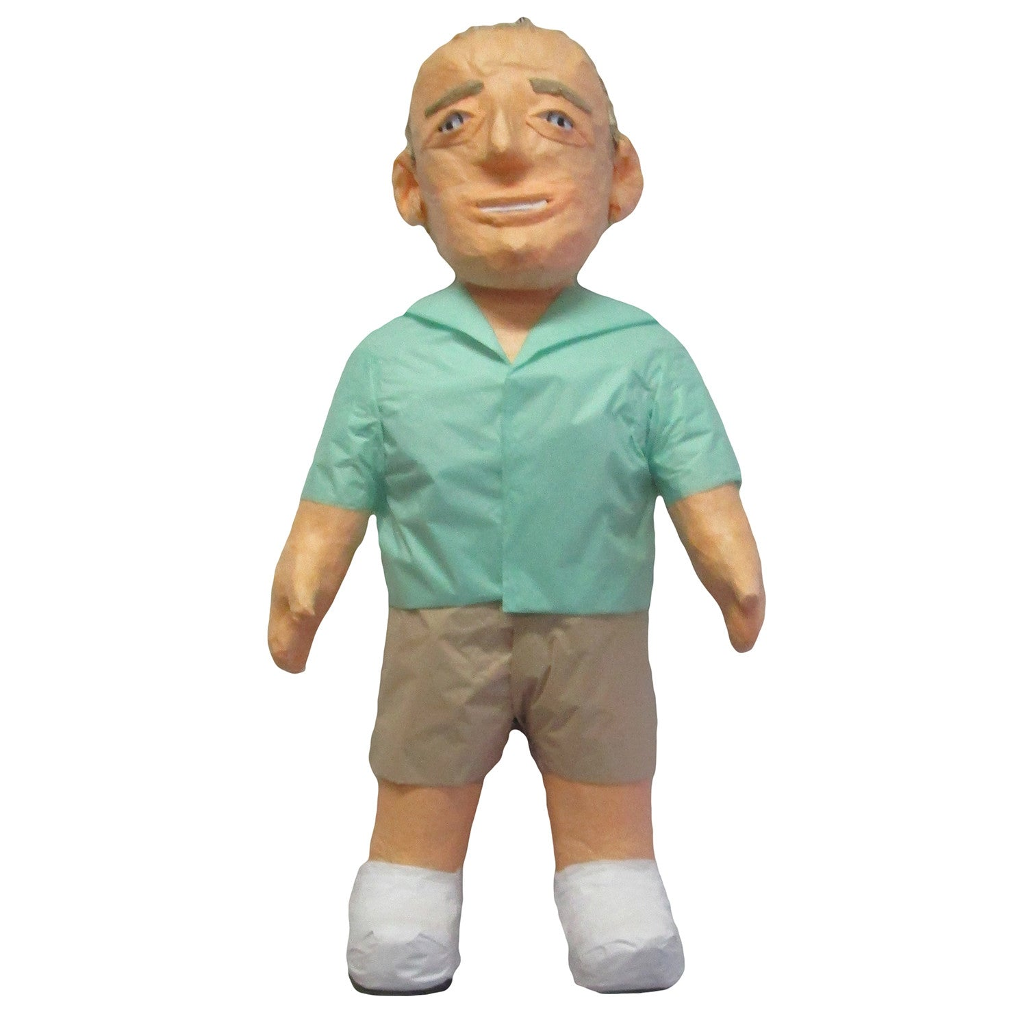 Man Green Shirt Custom Pinata
