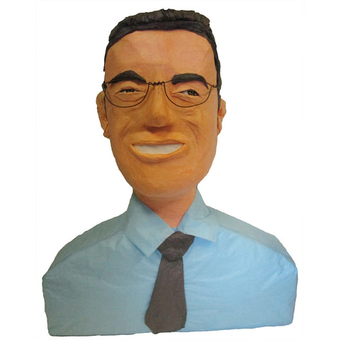 Man Smile Glasses Custom Pinata
