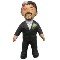 Man Black Suit Custom Pinata