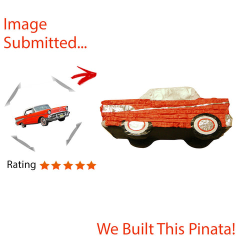 Large Chevrolet Bel Air Motor Pinata
