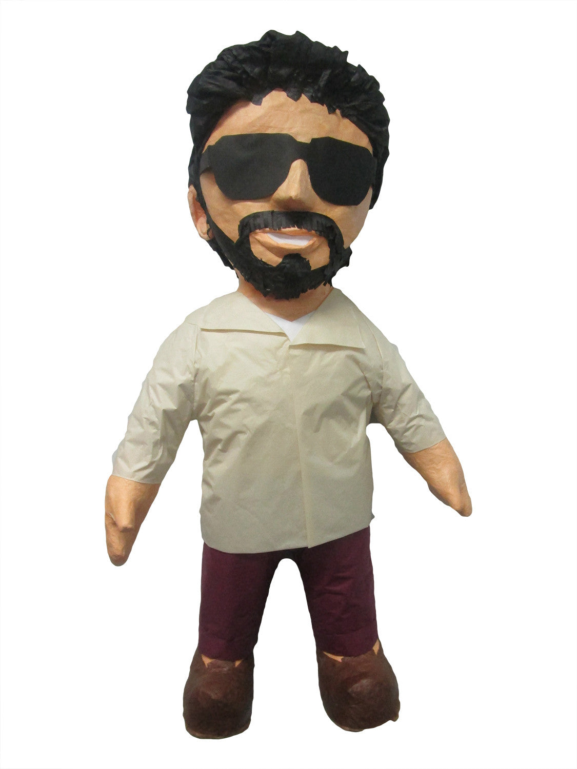 Man With White Shirt and Sunglasses Custom Pinata