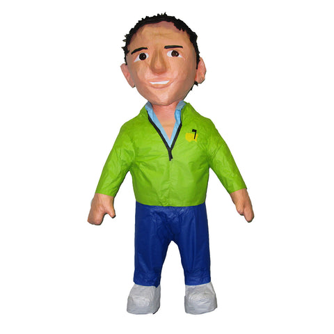 Man with Green Jacket Custom Pinata