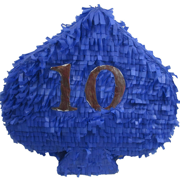 Blue Picas Poker Custom Pinata