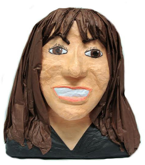 Custom Smiling Lady Pinata