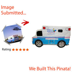 Ambulance Custom Pinata