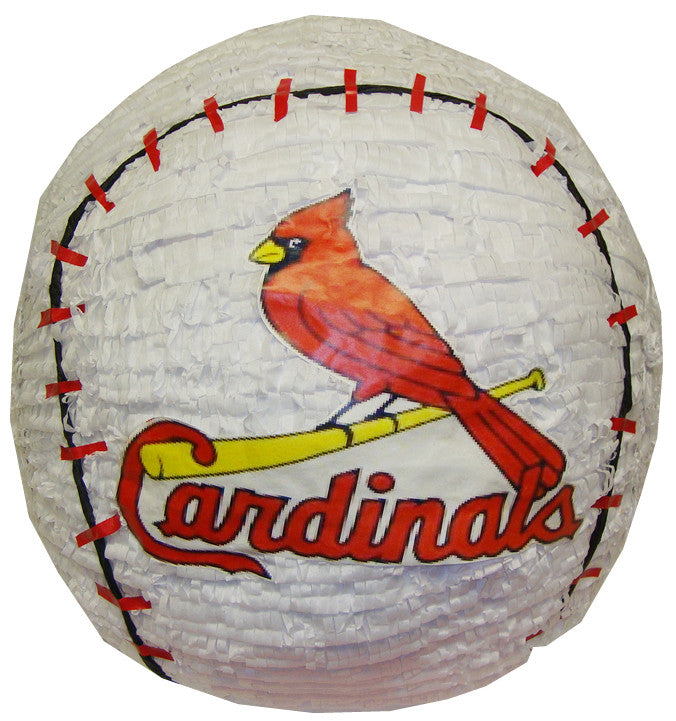 Custom Cardinals Baseball Pinata